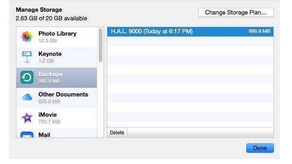 Trouver l'emplacement de sauvegarde iPhone sur Mac