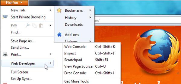 FirefoxWeb開発者