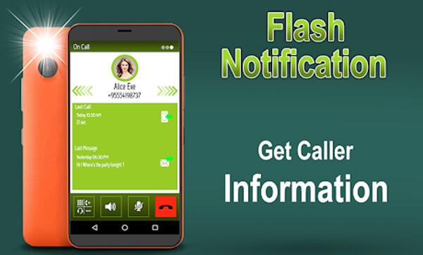 La notification Flash