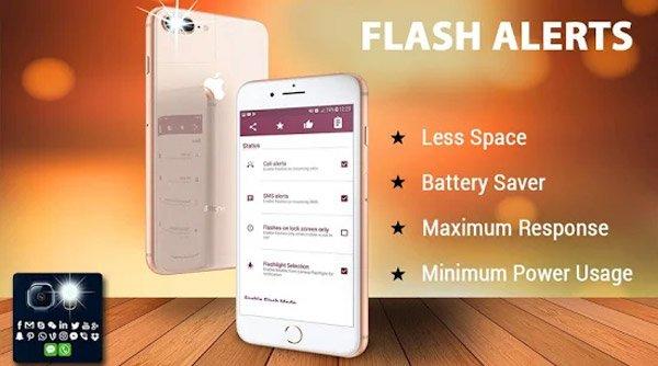 Flash sur appel et SMS