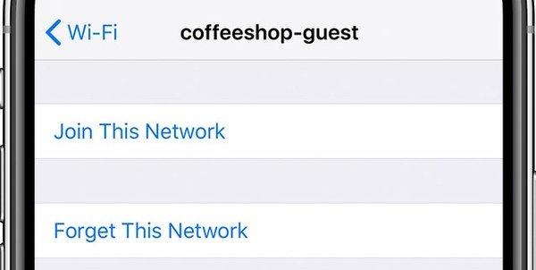 このネットワークを忘れて