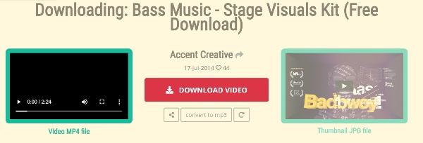 Kostenloser Online Vimeo Downloader