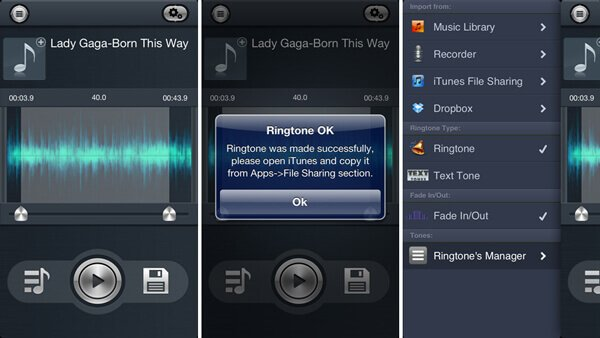 10 Best iPhone Ringtone Maker Apps for iPhone 4S/5/6/7/8/X/XR/XS