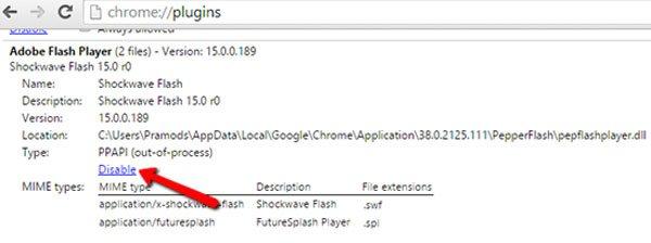 Vollbild auf Chrome