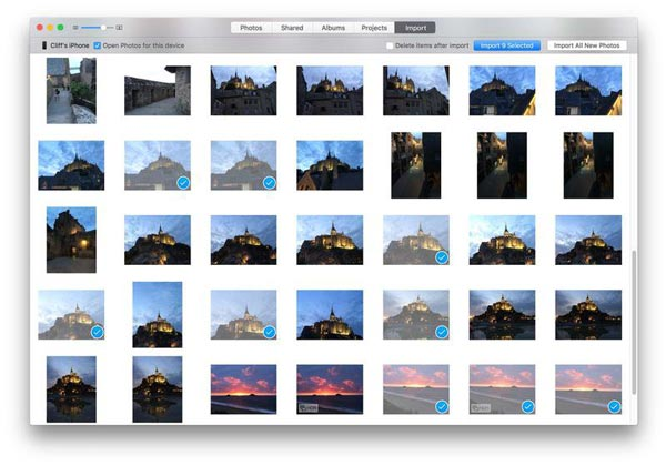 Fotos auf dem Mac