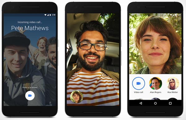 ビデオチャットアプリGoogle Duo