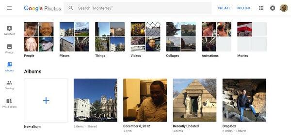 Google Fotos-Alben