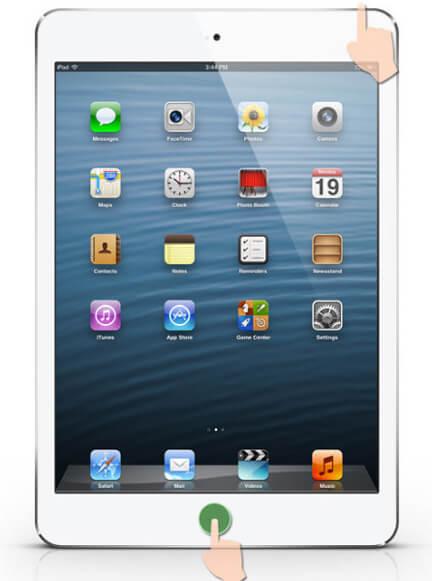 Жесткий сброс iPad