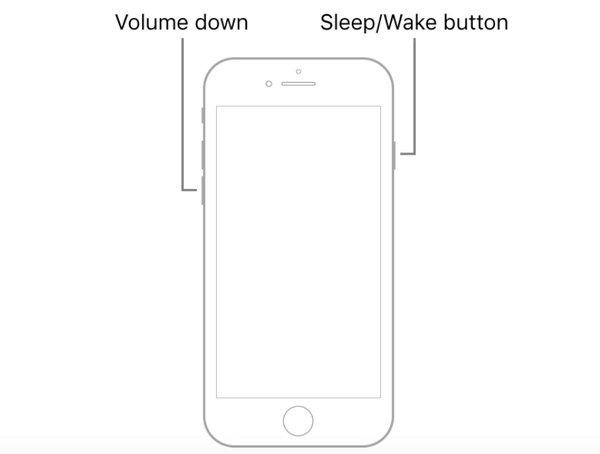 Хард ресет iPhone 7