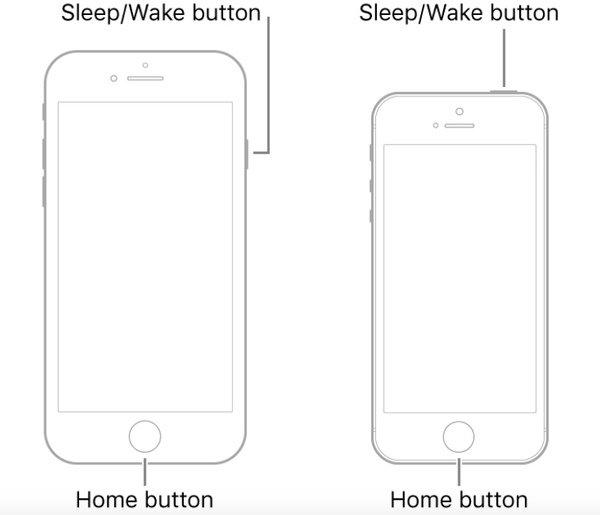 Жесткий сброс iPhone6S