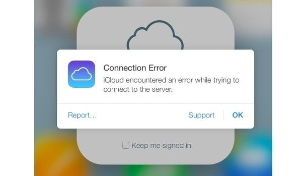 Cannot connect to icloud on iphone 6