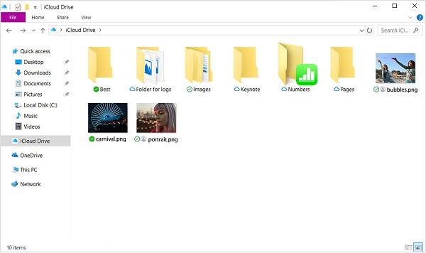 Siehe Ihre Dateien
