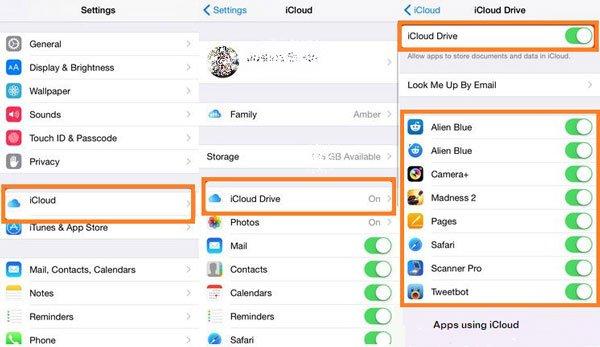 Dateien vom iCloud-Laufwerk löschen
