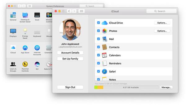 iCloud Note Option