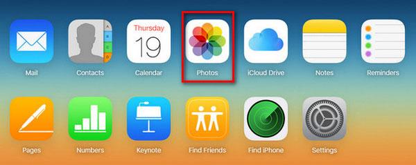 iCloudのフォト