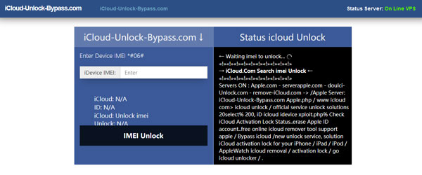 iCloudロック解除バイパス
