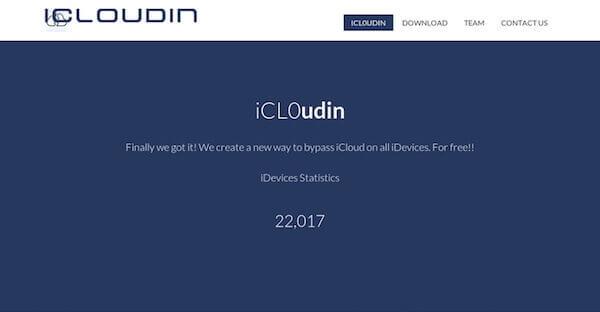 iCloudin