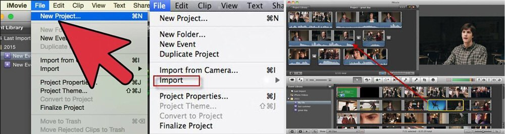 iMovie Combine YouTube Videos