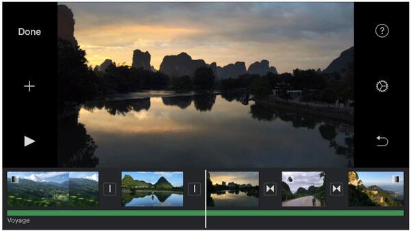 iMovie für iPhone