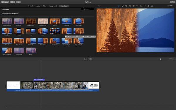 iMovieスライドショーメーカー