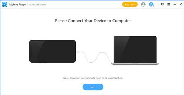 iPhoneを接続する