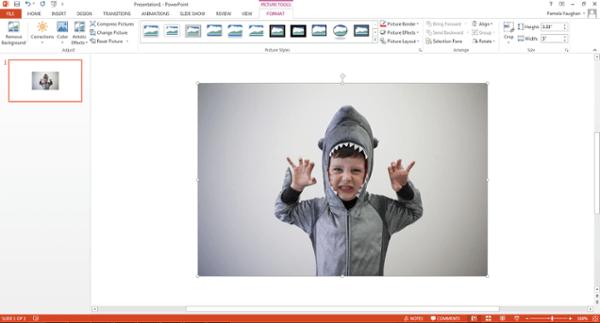 Insérer une image dans PowerPoint