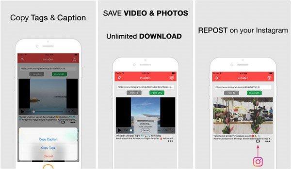 Instaget Instagram Video herunterladen