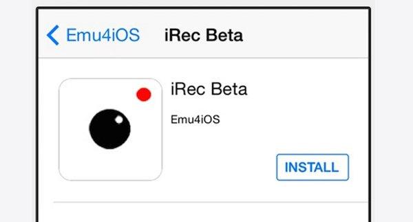 iRecをインストールする