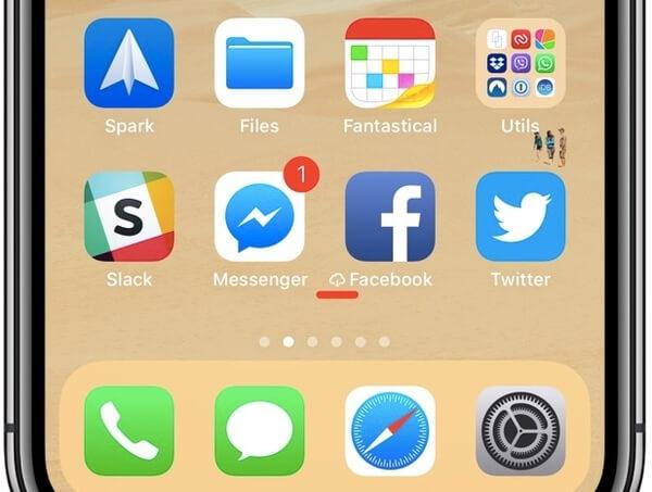 iOS-приложение для разгрузки