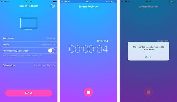 iOS Screen Recorder App