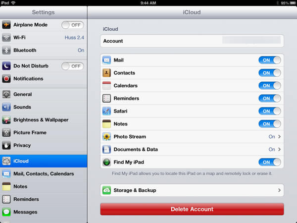 ipad backup location ipad