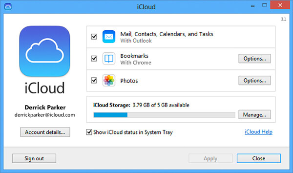 ipad backup location windows