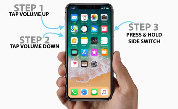 iPhone X force restart