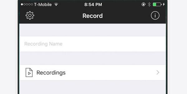iRecアプリでiPhoneを録音する