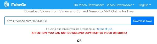 iTubego Vimeo Video-Downloader