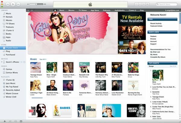 Starten Sie iTunes