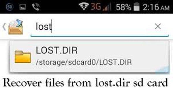 Lostdir