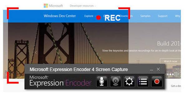 Microsoft Screen Recorder