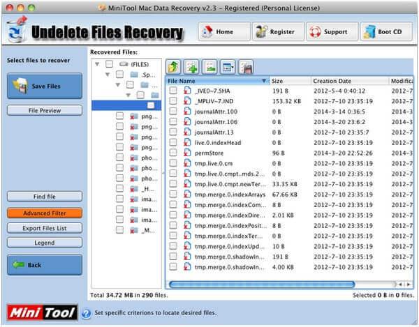 MiniTool Mac Datenwiederherstellung