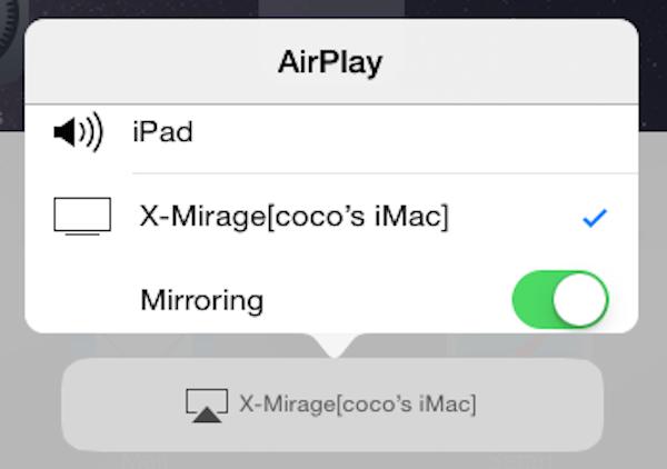 Spiegel auf den Computer spiegeln