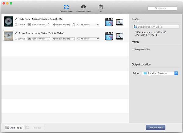 MKV Converter pour Mac AVC
