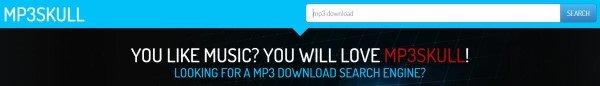 MP3Skull-Schnittstelle