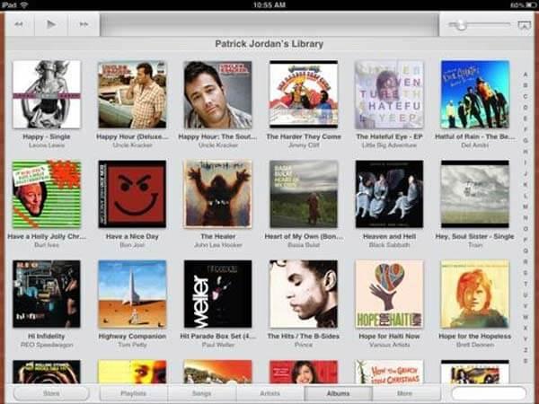 Heruntergeladene Musik auf iPad / iPhone löschen