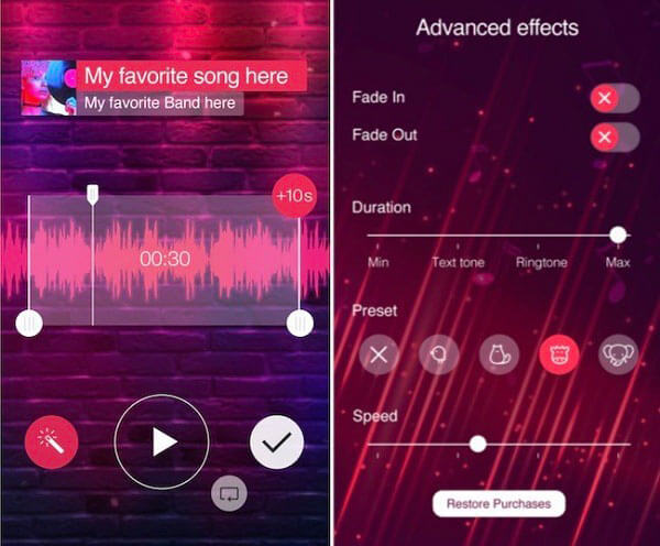 Musik Klingeltöne für iPhone