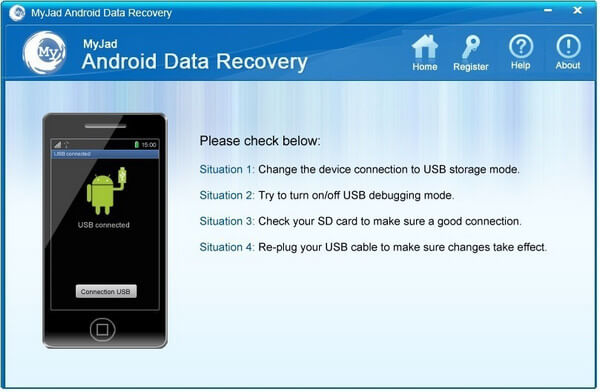 MyJad Android Data Recovery