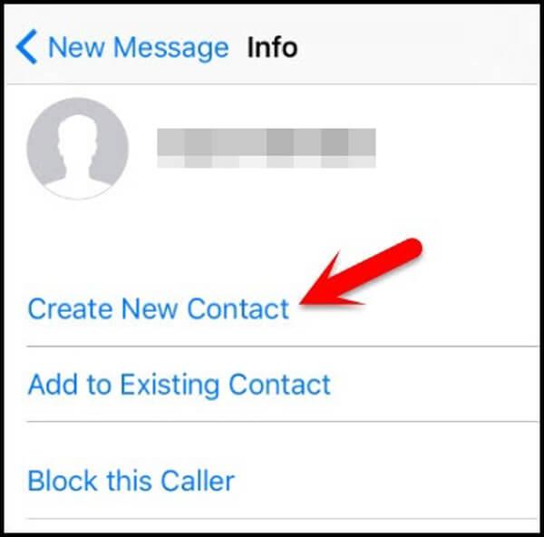 Neuer Kontakt