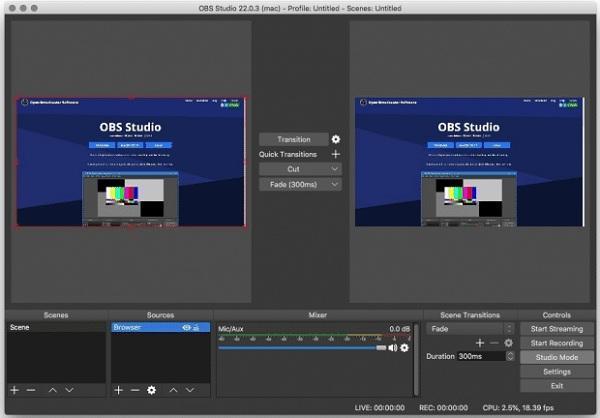 OBS Studio-Screenshot