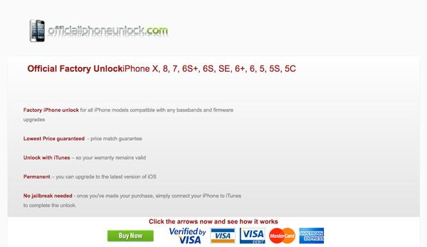 Déblocage iPhone officiel