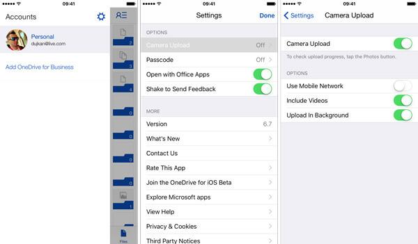 OneDrive-Upload