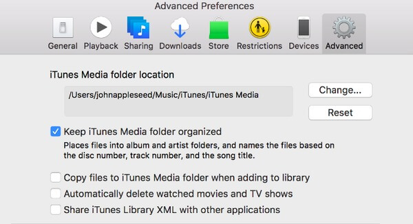 Organize iTunes Library